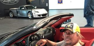 Vince Neil Shops at Celebrity Cars Las Vegas' Newly-Relocated Showroom