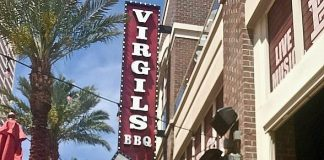 Watch the Kentucky Derby at Virgil's Real Barbecue