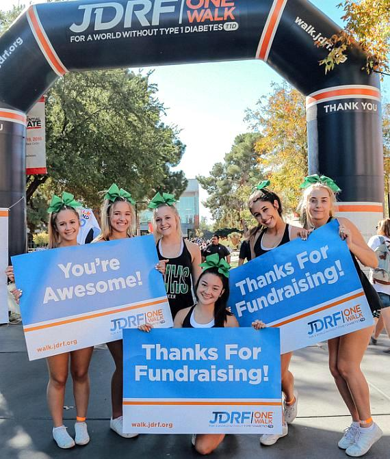 More Than 4,000 JDRF Supporters in Southern Nevada Expected at JDRF One Walk