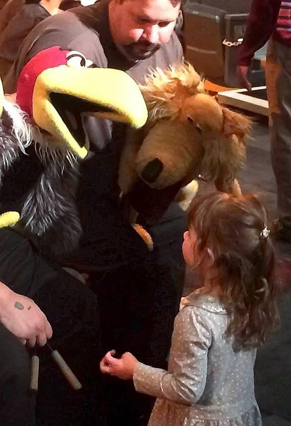 Wild West Puppet Adventure debuts at Sustainability Gulch in the Springs Preserve