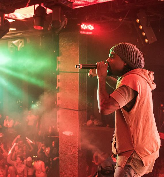 Wale performs at TAO & French Montana at Marquee