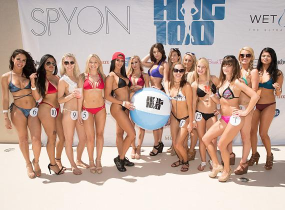 Wet Republic Hot 100 Bikini Competition