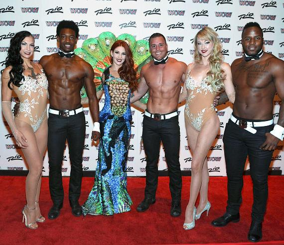 WOW Cast withChippendales