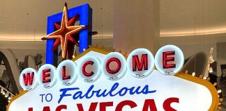 'Welcome to Las Vegas Gift Shops' Celebrate 60th Anniversary of the Welcome to Las Vegas Sign in May