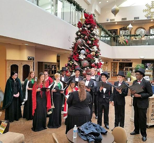 High School Choirs to Sing at Both Walker Furniture Stores on Saturdays During The Holidays