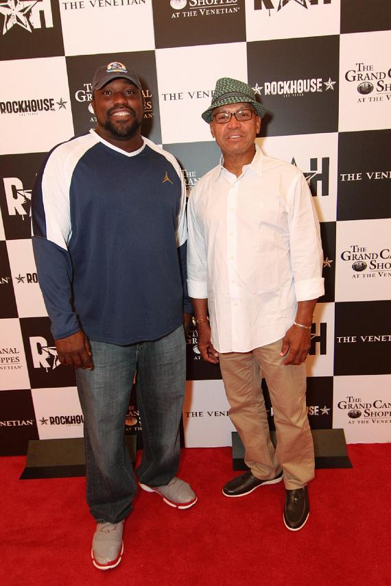 Reggie Jackson and Warren Sapp