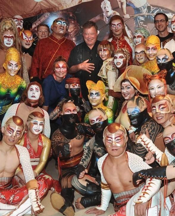 Actor William Shatner Blown Away by Performance of KÀ by Cirque du Soleil