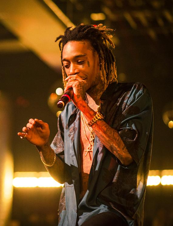 Wiz Khalifa Takes the Drai's LIVE Stage for a Surprise Performance at the Official Billboard Music Awards After Party at Drai's Nightclub in Las Vegas