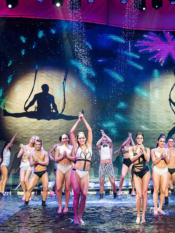 """""""WOW"""" the Acclaimed International Water Spectacular to Make a Splash at Rio All-Suite Hotel & Casino in Las Vegas; Performances Begin September 26, 2017"""