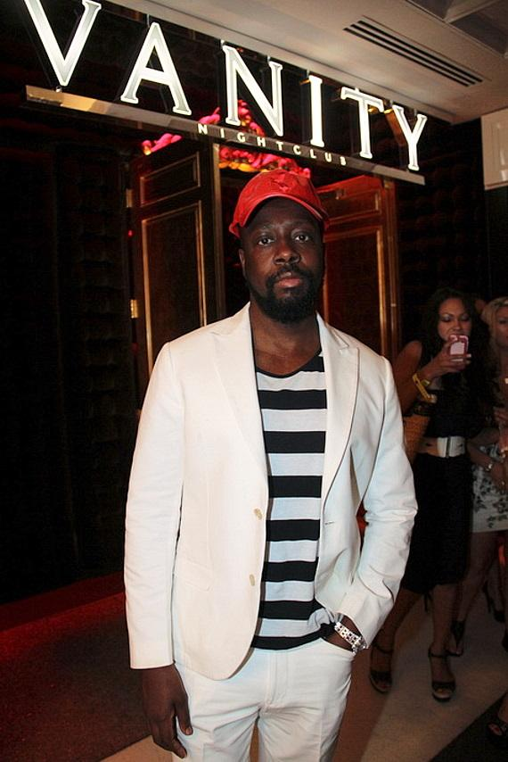 Wyclef Jean Performs at Hard Rock Hotel & Casino