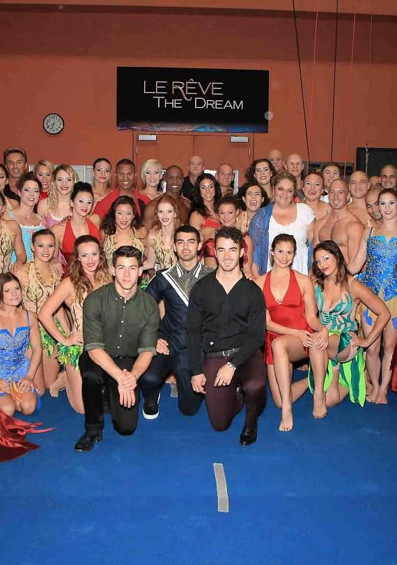 Jonas Brothers at Le Reve