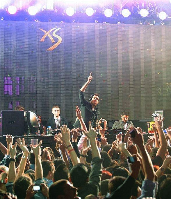 Calvin Harris celebrates birthday at XS Las Vegas