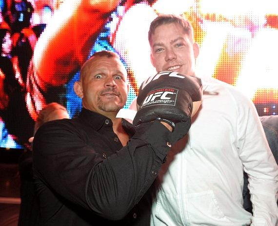 Chuck Liddell and Jesse Waits at XS