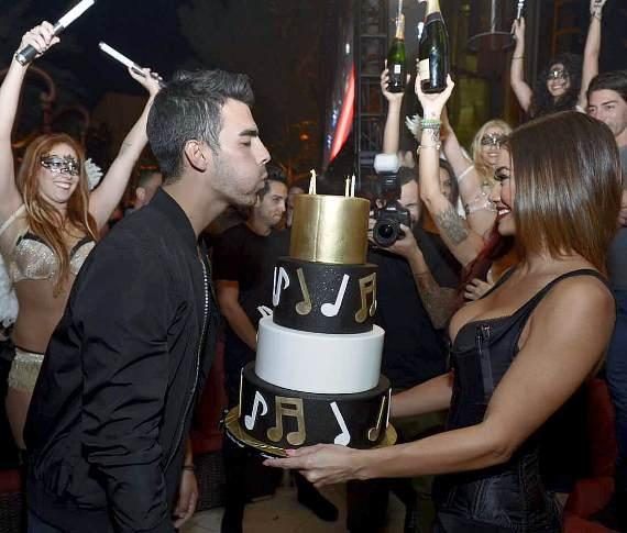 Joe Jonas 25th birthday at XS