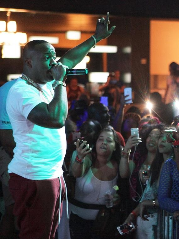 Yo Gotti performing at Ditch Fridays
