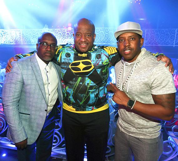 Young MC at LAX Nightclub at Luxor Hotel and Casino