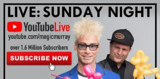 Murray The Magician to Perform Live Facebook & YouTube Shows this Weekend