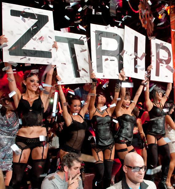 Z Trip's cheering section at TAO