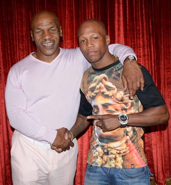 Zab Judah Attends Mike Tyson Undisputed Truth At Mgm Grand In Las Vegas