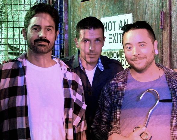 Zach Galligan, Ryan Stock and Amber Lynn get First Look at Fright Dome in Las Vegas