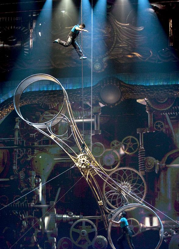 Cirque Du Soleil Wheel Of Death: Acrobatic Spectacle Zarkana By Cirque Du Soleil To Open At