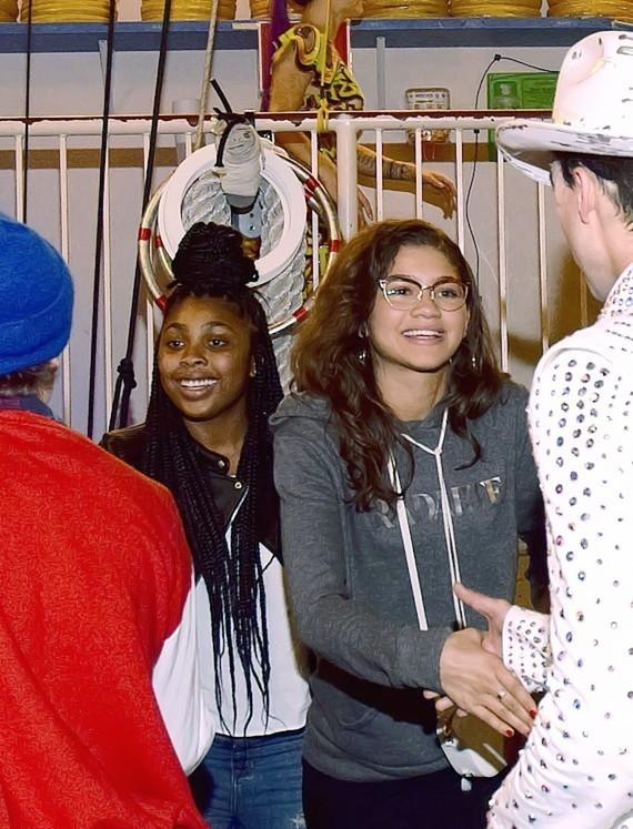 Zendaya at Michael Jackson ONE by Cirque du Soleil