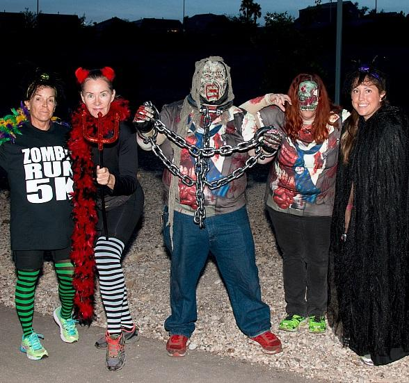 Zombies to Invade Henderson on Oct. 19; Zombie Run 5K Participants Encouraged to Run in Costume