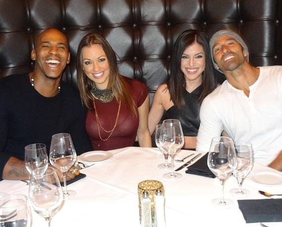 """Actor Mehcad Brooks (Jimmy Olsen on CBS hit show """"SuperGirl"""") visits Andiamo Italian Steakhouse and the D Las Vegas"""