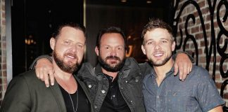 Stars of CBS SEAL Team Dine at Andiamo Italian Steakhouse in Las Vegas