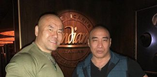 """Vegas' Andiamo Italian Steakhouse visited by """"Marco Polo"""" Hollywood Actors/Fight Choreographers, Ron Yuan and Woon Young Park"""