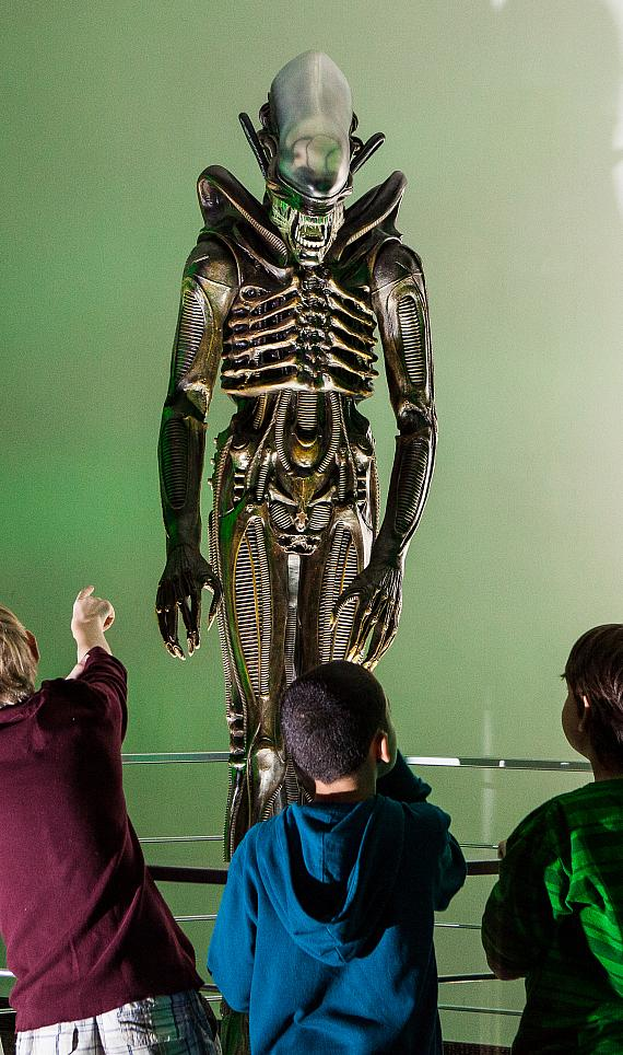 Alien at Alien Worlds and Androids at DISCOVERY Children's Museum