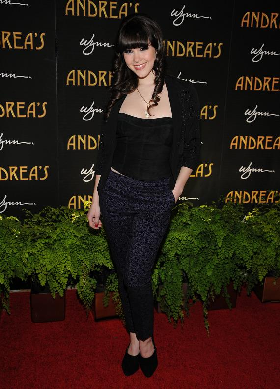 Claire Sinclair at Andrea's grand opening in Las Vegas
