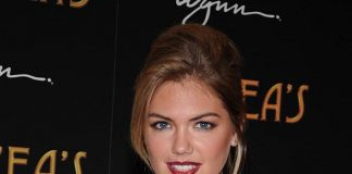 Kate Upton at Andrea's grand opening in Las Vegas