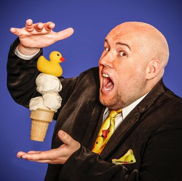 Scoop Up Complimentary Ice Cream at Laughternoon Starring Adam London