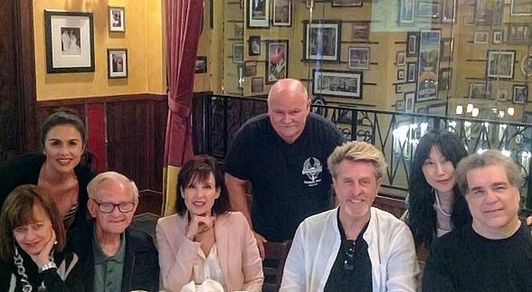 Journey Bass Player Ross Valory and his wife Mary Valory Enjoy Dinner at Carmine's in The Forum Shops at Caesars