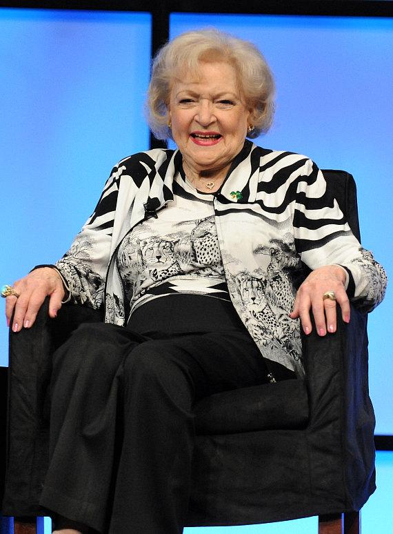 Betty White at NAB Show in Las Vegas