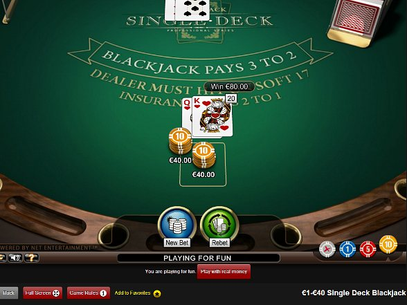 Practice Playing Blackjack