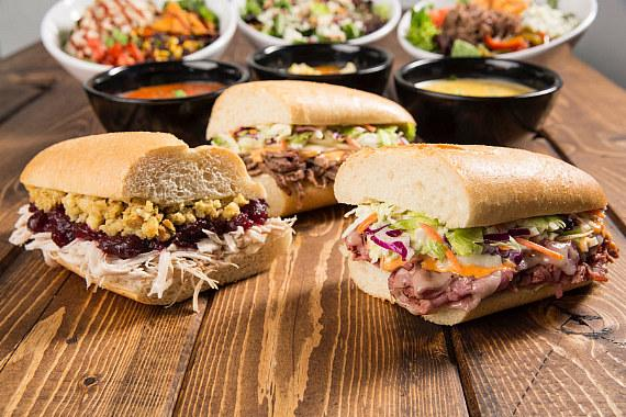 Great sandwiches by Capriotti's