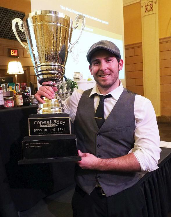 """Velveteen Rabbit Wins Annual """"Boss of the Bars"""" Contest at The Mob Museum's Repeal Day Extravaganza"""