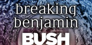 Breaking Benjamin Announce 2020 Summer Tour With Bush, Theory of a Deadman, Saint Asonia at Mandalay Bay Events Center September 5, 2020