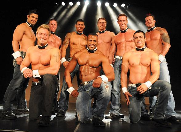 Chippendales perform at The Rio All-Suite Hotel & Casino in Las Vegas