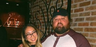 """Chumlee of """"Pawn Stars"""" Dines with Girlfriend and Family at Andiamo"""