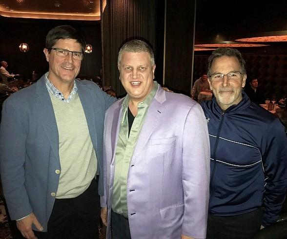 Coaches of NHL Columbus Blue Jackets, New York Islanders Dine at Andiamo Italian Steakhouse