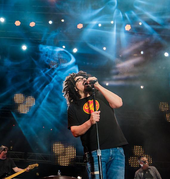 Adam Duritz of Counting Crows at Downtown Las Vegas Events Center