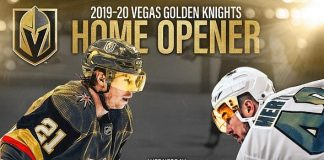NHL Announces Golden Knights 2019-20 Home Opener Will Be Played October 2 Against San Jose