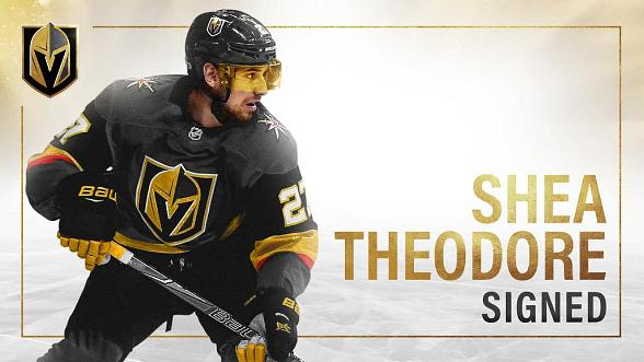 Vegas Golden Knights Sign Shea Theodore to Seven-Year Contract