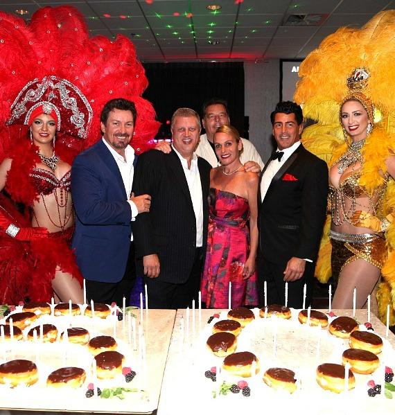 A Couple of Sopranos Host Vegas Executive Richard Wilk's 50th Birthday