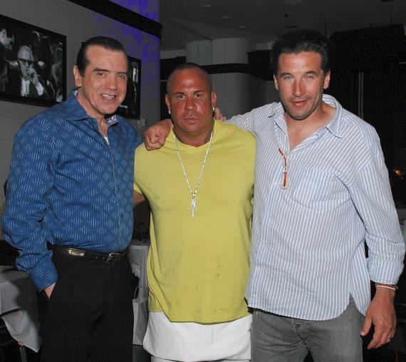 Chazz Palminteri, Steve Martorano, and Billy Baldwin
