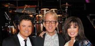 Andy Dick Attends Donny & Marie's Show at Flamingo Las Vegas