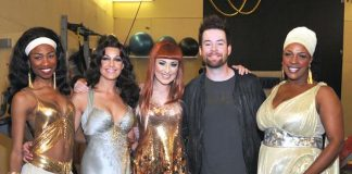 JennLee, Dea, Carly, David Cook and Toscha at Viva ELVIS